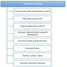 Development of prebiotic food products and health benefts[taliem.ir]