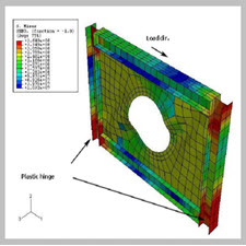 Effects of Circular Opening Dimensions on the Behavior of Steel Plate Shear Walls (SPSWs)