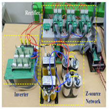 Improving Output Performance of a Z-Source Sparse Matrix Converter Under Unbalanced Input-Voltage Conditions