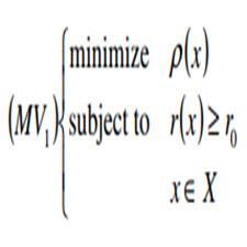 Multiobjective Mean-Risk Models for Optimization in Finance[taliem.ir]