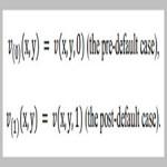 Portfolio optimization problem with default risk[taliem.ir]
