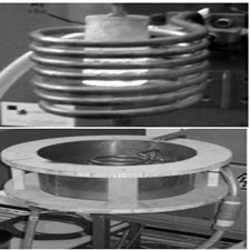 Thermal analysis of magnetic shields for induction heating